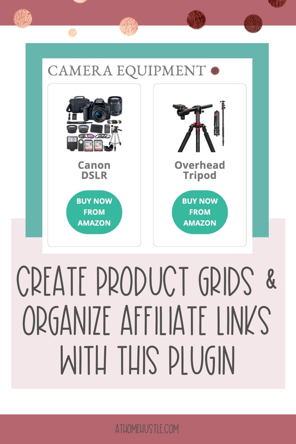 Product grid screenshot to show affiliate link plugin example