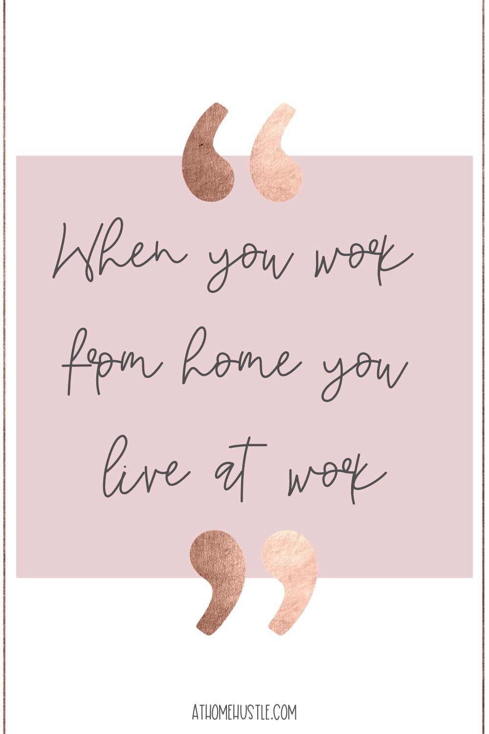 work from home quote
